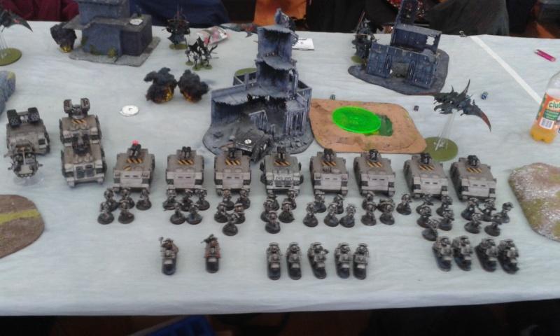 1500 point Pure DE list Tournment report Game4w11