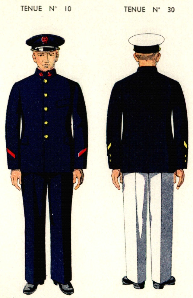 Uniforme de Marins de la Direction des Ports 1938 Dirpor10