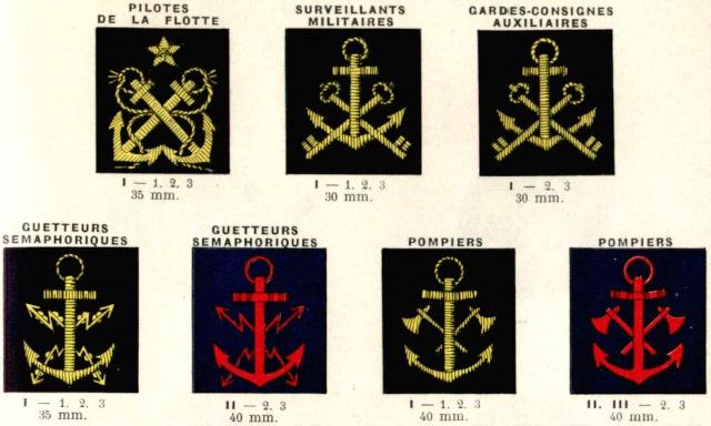 insignes de cols spécialités 1938 Insign10