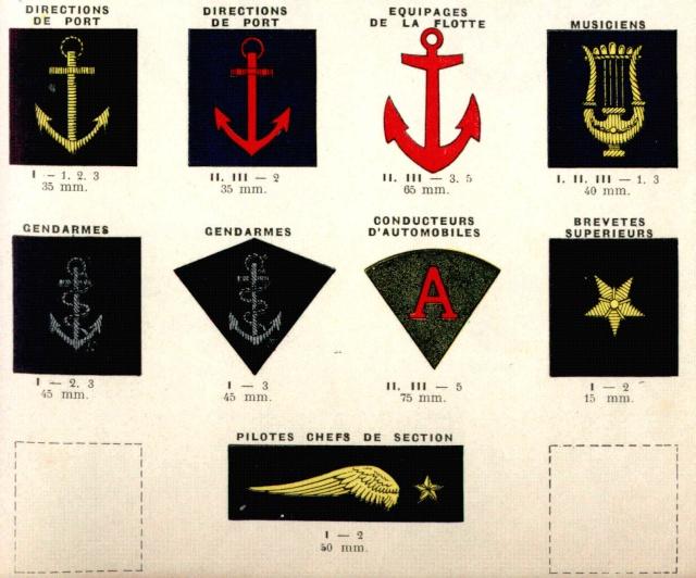 insignes de cols spécialités 1938 Insign12