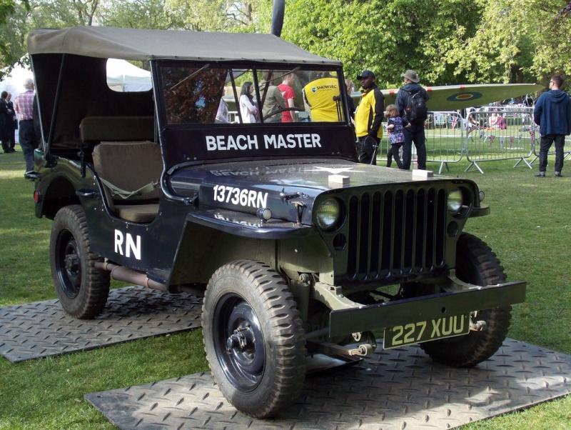 """Exemples de Vehicules de la Royal Navy à Chatham - UK """"Salute the 40s"""" Jeep_r13"""