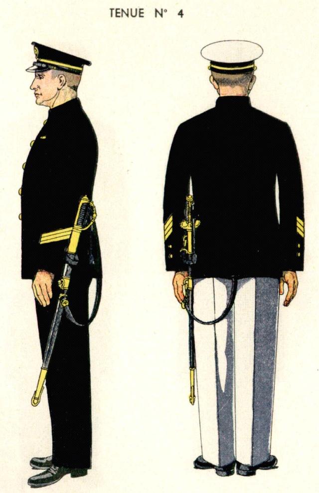 Uniforme de Maître 1938 - Source planches Marine Nationale 1938 Maitre13