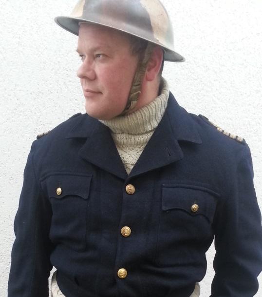 Capitaine (Royal Navy) d'un groupe de Motor Torpedo Boat en Working Dress n°5A Nc510