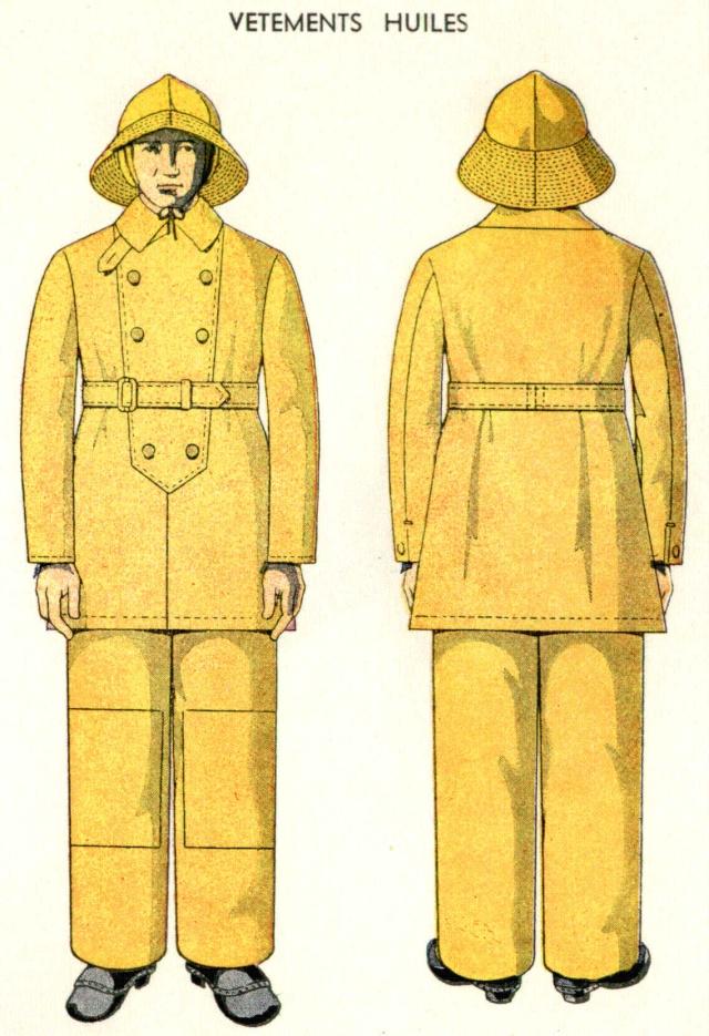 Vêtement Huilé 1938 Veteme10