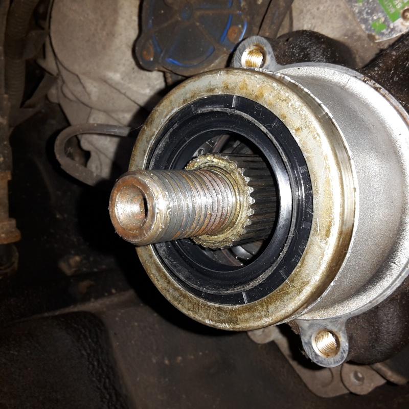 fuite d'huile dans tambour de frein main Axe310