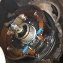 fuite d'huile dans tambour de frein main 410