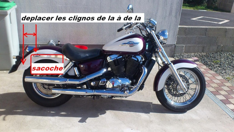 Vt1100 shadow : monter des sacoches en cuir ? Deplac10