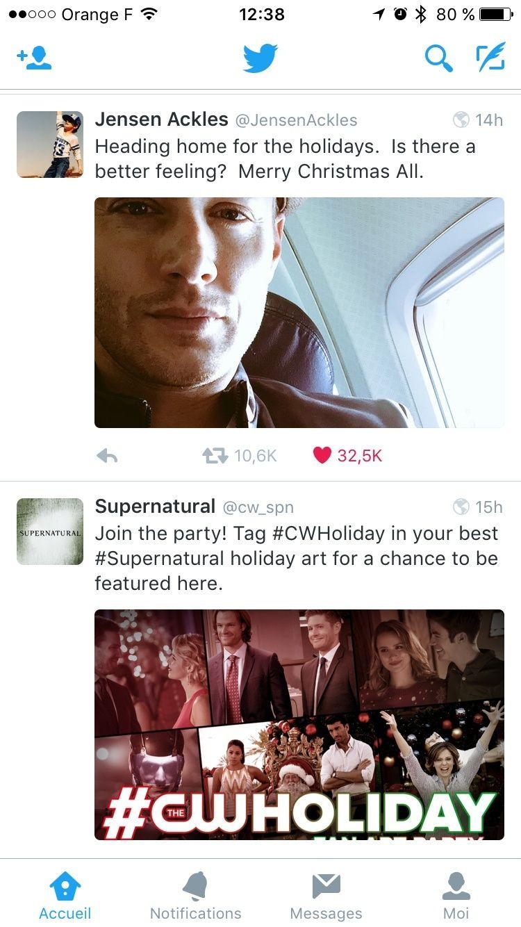 Le Twitter/FB/Insta de Jensen et Danneel - Page 4 Image22