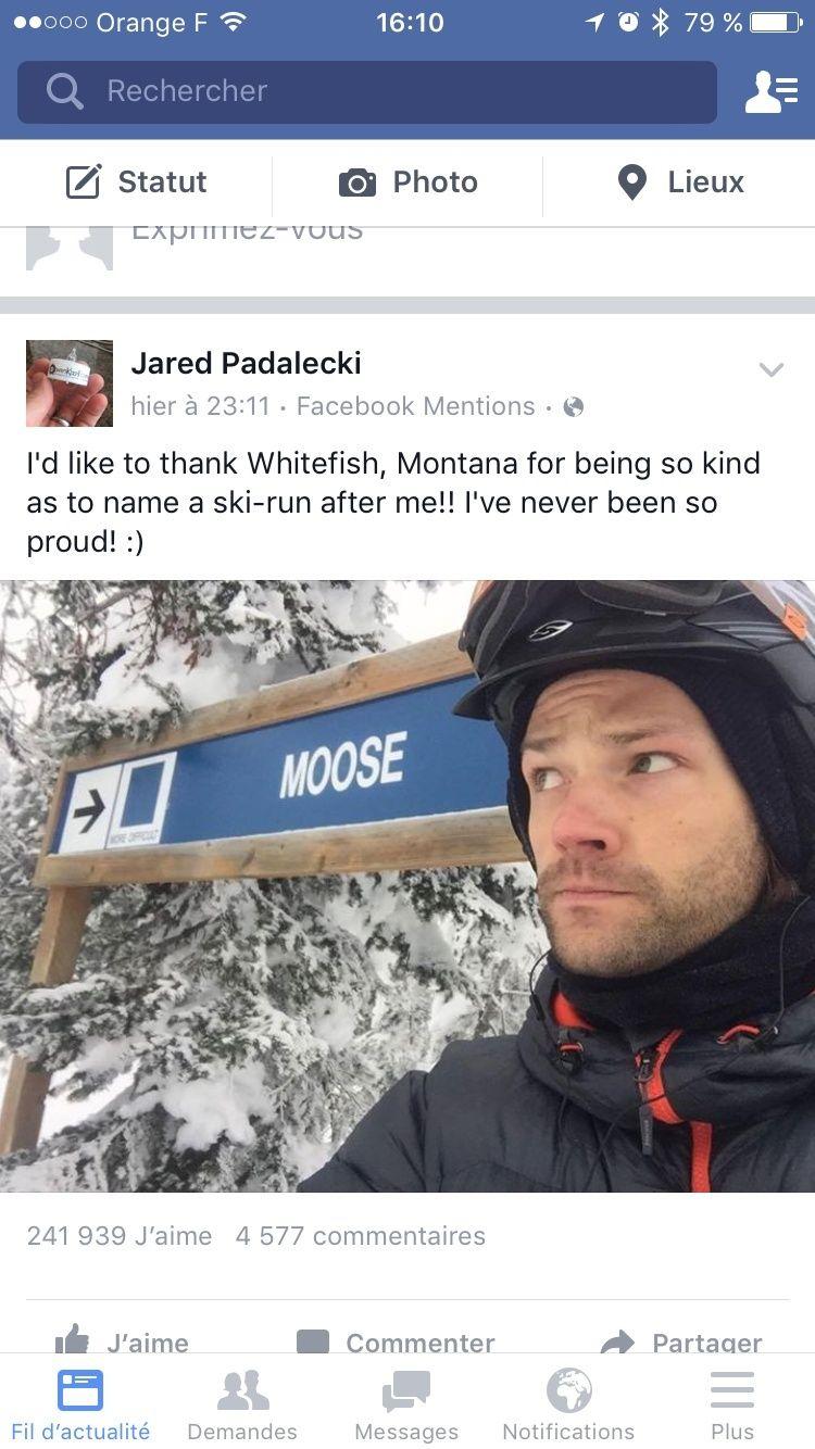 Le Twitter/FB/Insta de Jared et Gen #2 - Page 20 Image48
