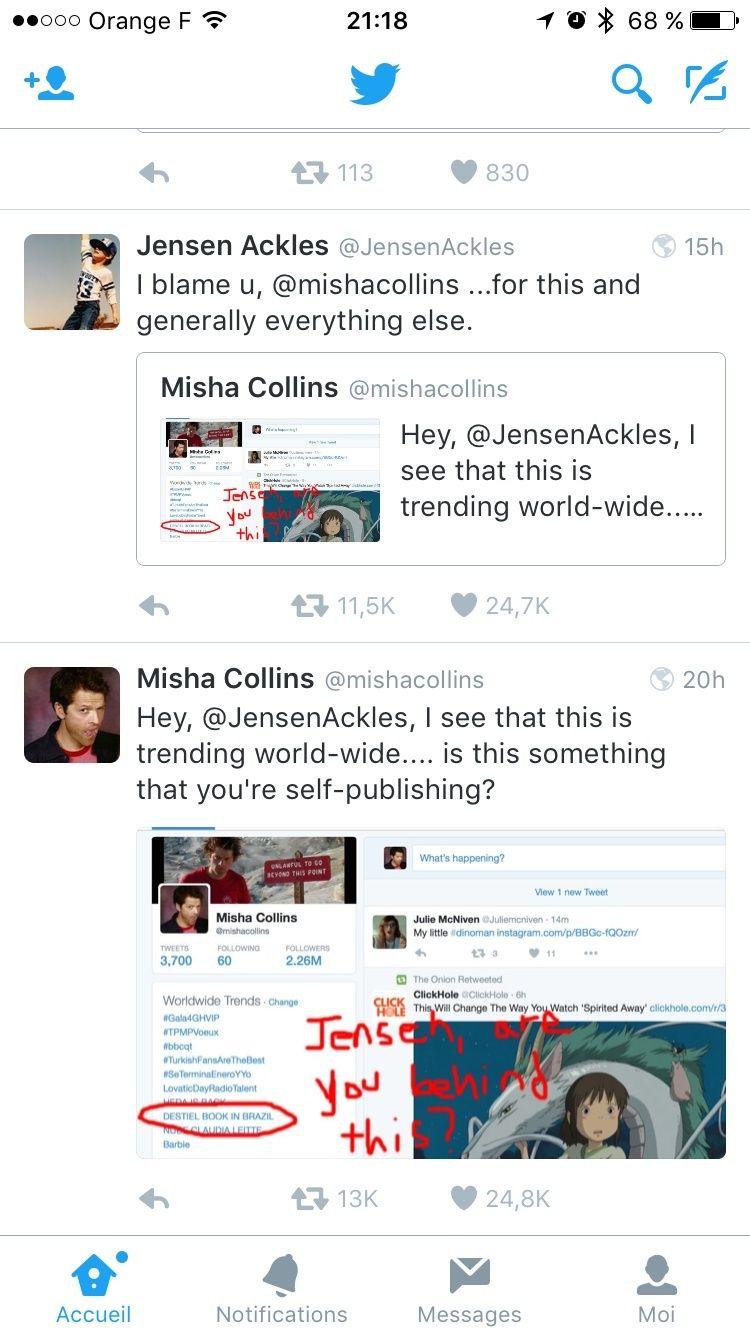 Le Twitter/FB/Insta de Jensen et Danneel - Page 4 Image58
