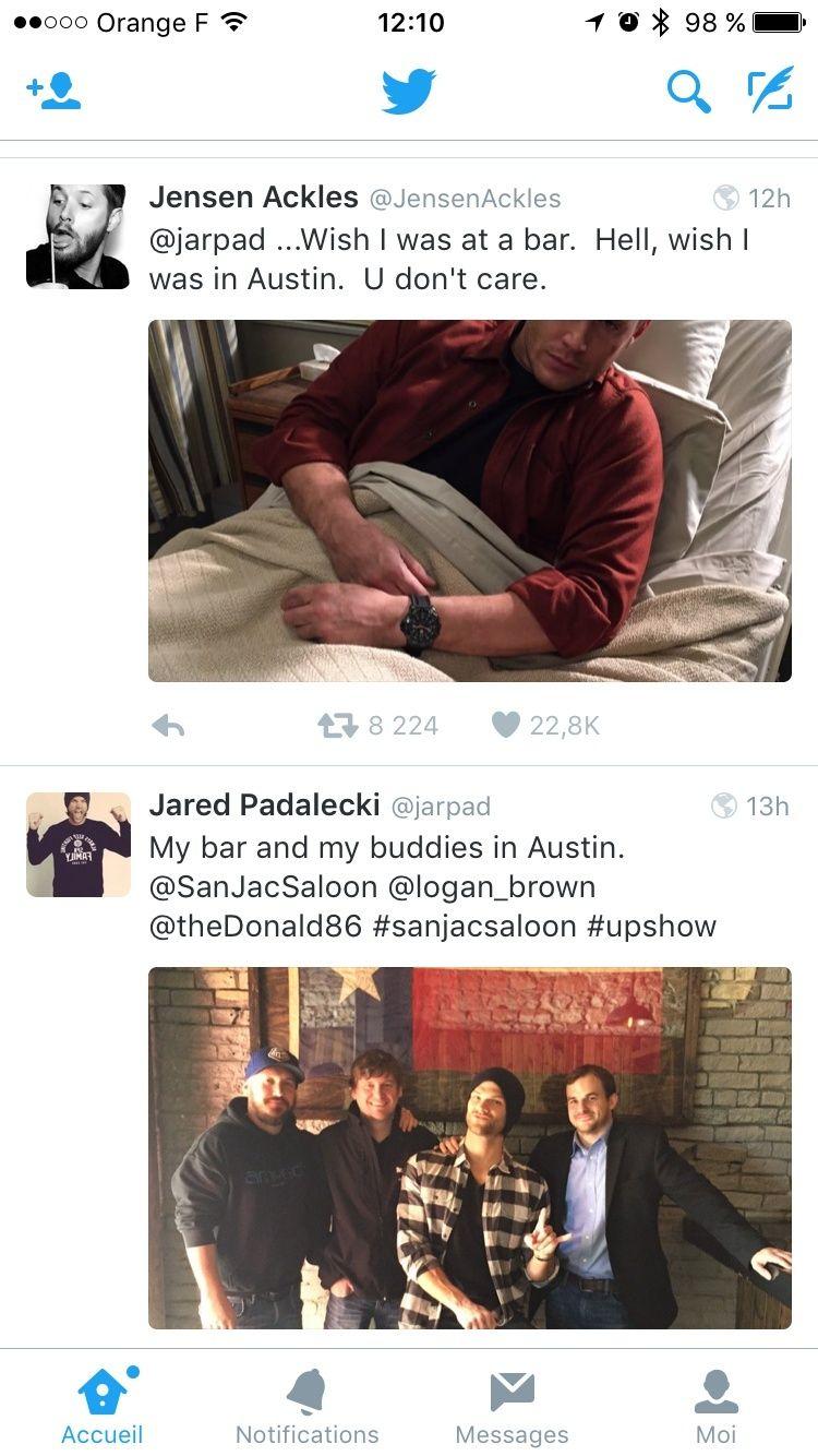 Le Twitter/FB/Insta de Jensen et Danneel - Page 4 Image59