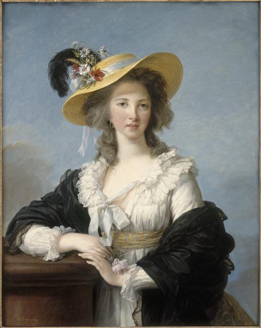 Portraits de Madame de Polignac par Vigée-Lebrun 00-00810