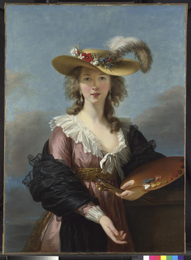Portraits de Madame de Polignac par Vigée-Lebrun N-165310