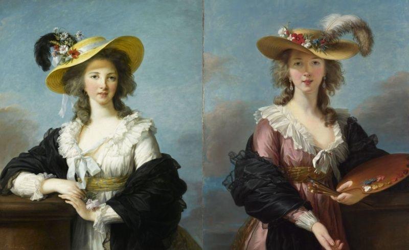 Portraits de Madame de Polignac par Vigée-Lebrun Sans_t14
