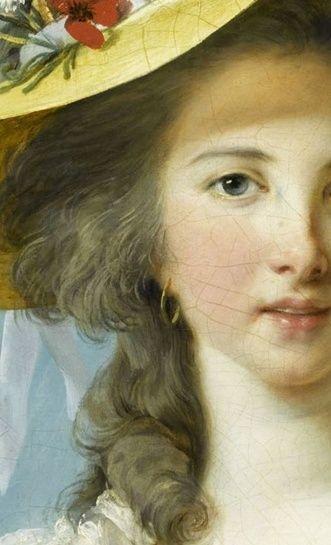 Portraits de Madame de Polignac par Vigée-Lebrun Sans_t15