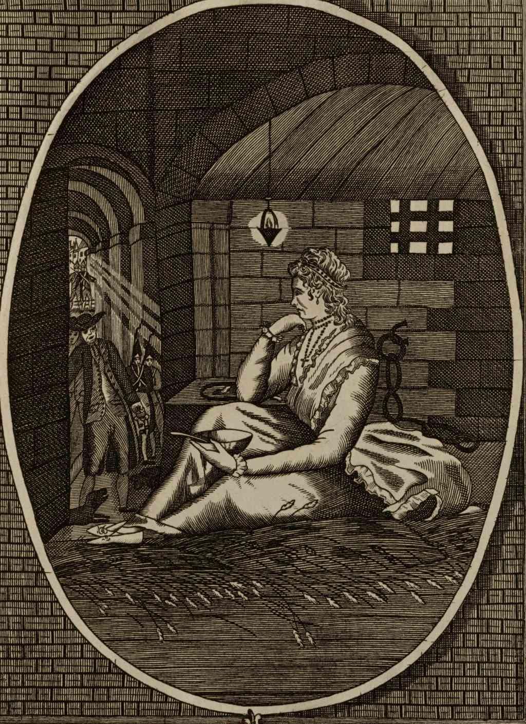 La Conciergerie : Marie-Antoinette dans sa cellule. - Page 3 Temple12