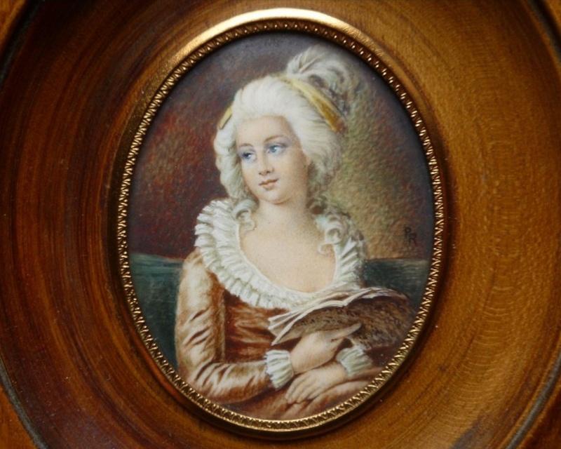 Miniature de Madame de Polignac d'après Madame Vigée Lebrun Vigee_12