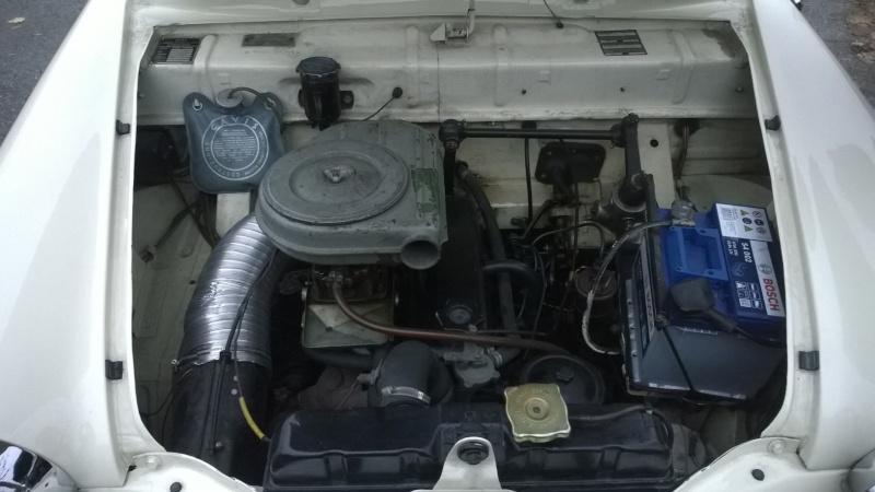 Eccola! Fiat 1200 Granluce Motore10
