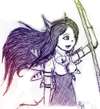 Froshana draws stuff Tumblr23