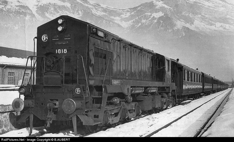 Pictures of Yankee on DB-rails 181810