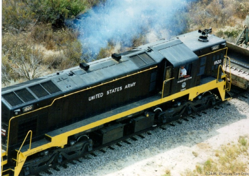 Pictures of Yankee on DB-rails 182010