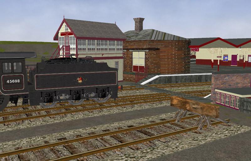 The Oldham Loop Line. Middle18