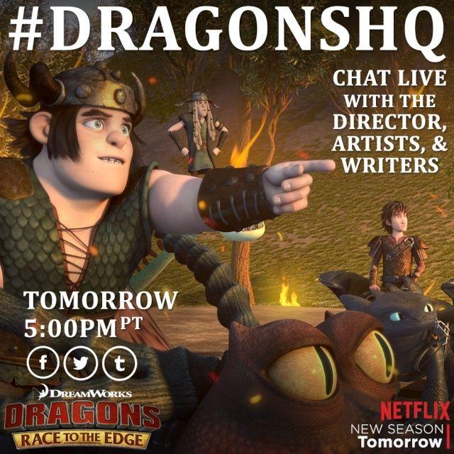 Dragons saison 3 : Par delà les rives [Avec spoilers] (2015) DreamWorks - Page 15 Tumblr23