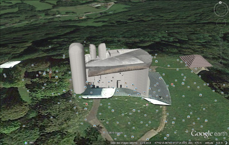 Les maisons construites par Le Corbusier Chapel10