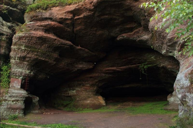 Le Guide de la France mystérieuse Grotte11