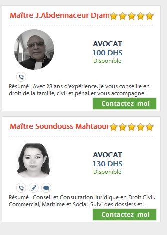 Assistance juridique en ligne Maroc Avocat10