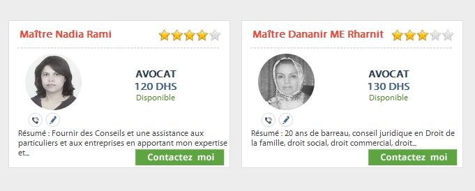 Assistance juridique en ligne Maroc Avocat11