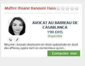 Assistance juridique en ligne Maroc Avocat12