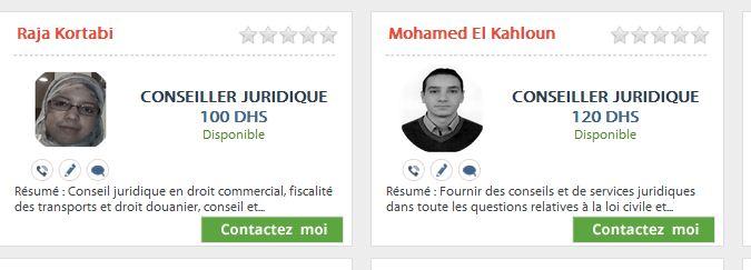 Assistance juridique en ligne Maroc Consei10