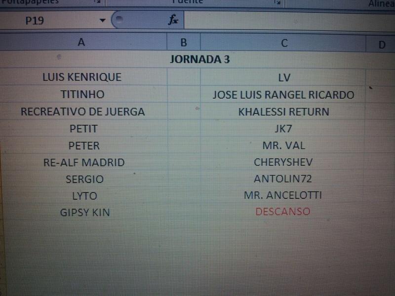 CALENDARIO Jornad13