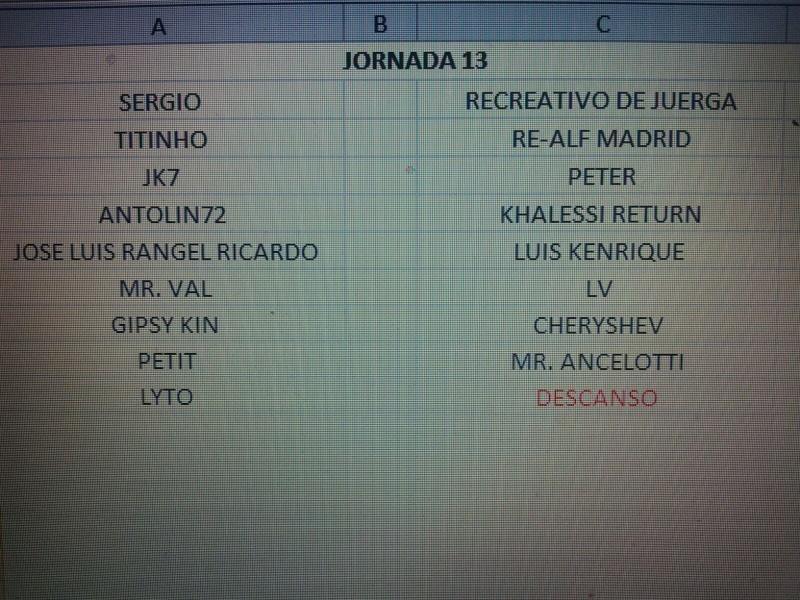 CALENDARIO Jornad23