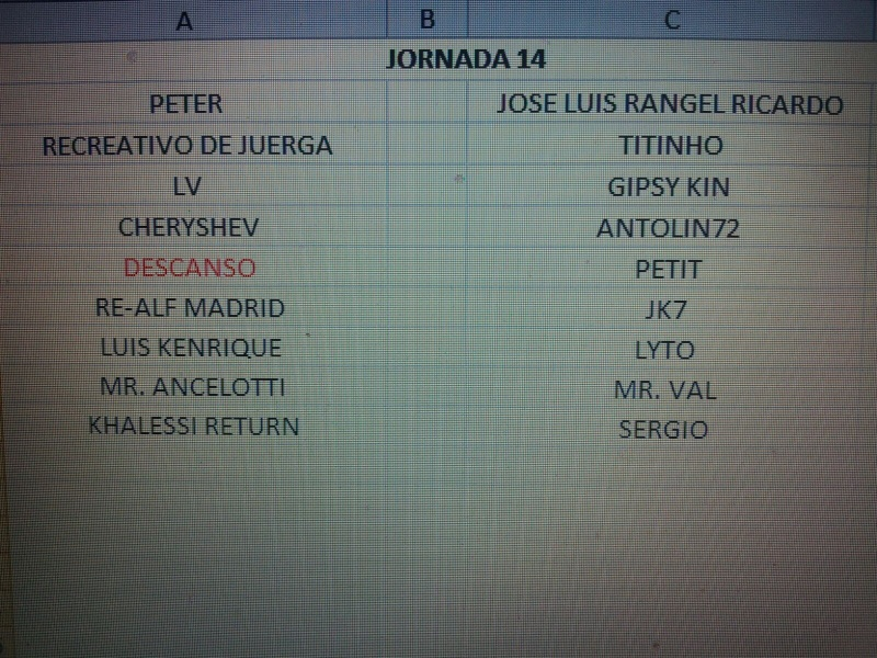CALENDARIO Jornad24
