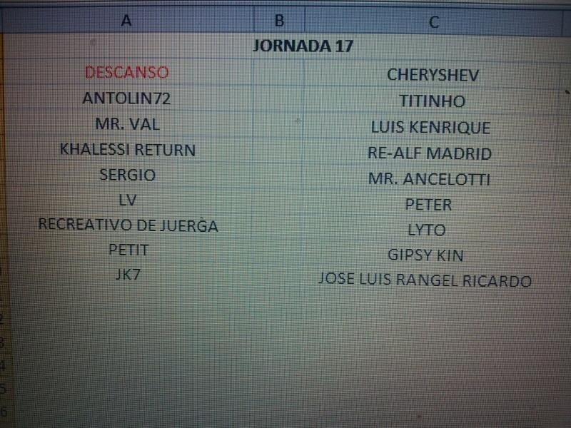CALENDARIO Jornad27