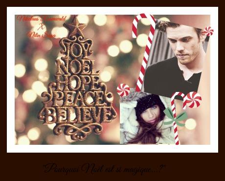 """Pourquoi Noël est si magique...?"" Nilin Sapa X Nikolaus Rosenwald Noel10"