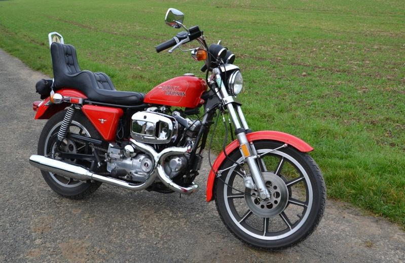 Harley sportster 1000 fonte 1979 excellent état 110