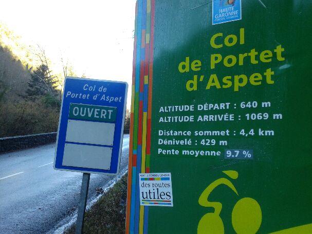 Col de Portet d'Aspet - Pic de Paloumère 20160210
