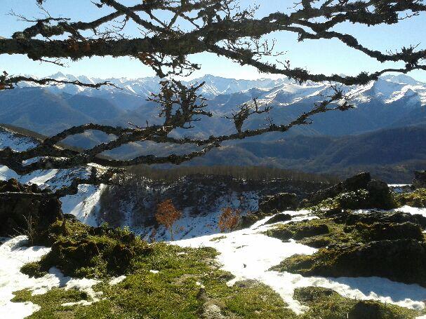 Col de Portet d'Aspet - Pic de Paloumère 20160213