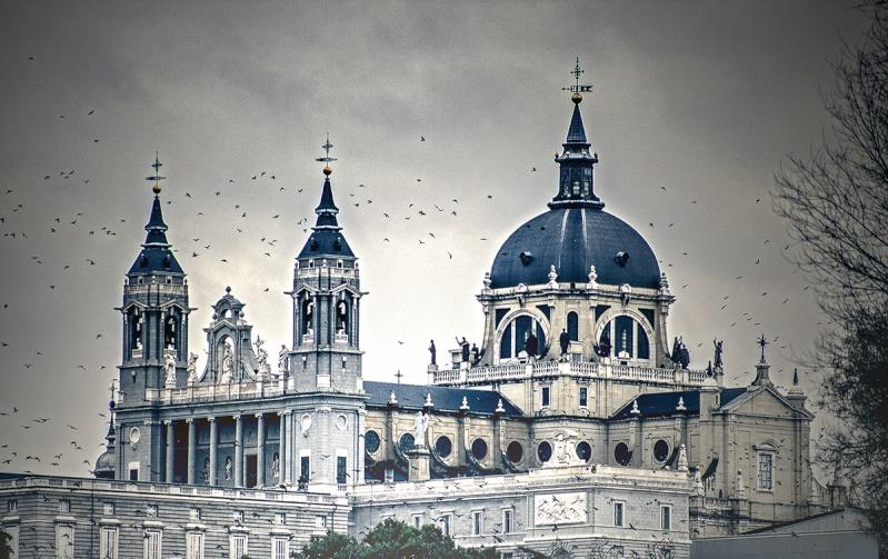Aspecto de La Catedral de la Almudena Catedr11