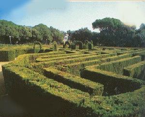 Aspecto del Parque del Laberinto Laberi10