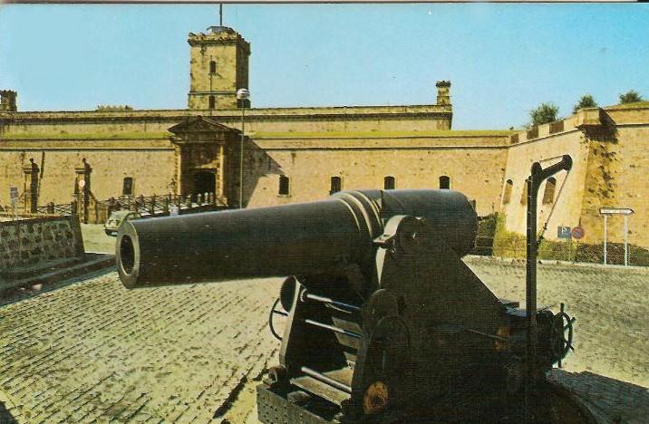 Aspecto del Castillo de Montjuic Montju11