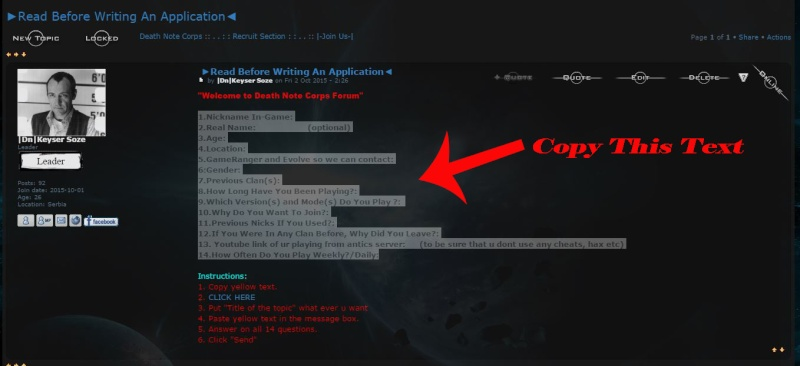 ►Read Before Writing An Application◄ 110