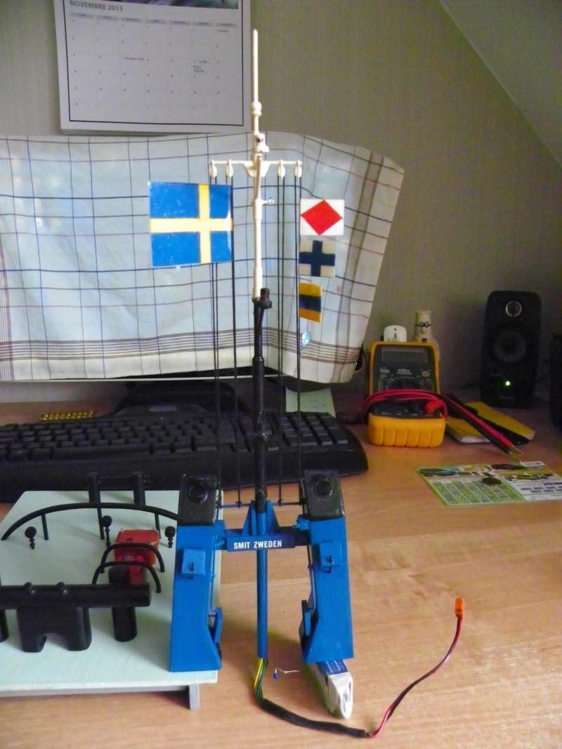 remoqueur Smith Zweden coque en bois,L92cm  100_1016