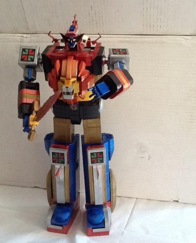 Daltanius Custom In Lego Trasformabile Soul Of Chogokin Gx-59 _5711