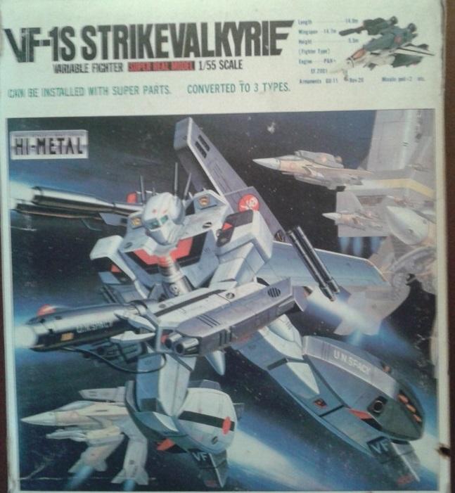 Robotech Strike Valkyrie VF-1S scala 1/55 raro box MACROSS Public10