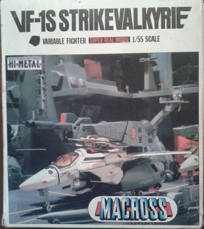 Robotech Strike Valkyrie VF-1S scala 1/55 raro box MACROSS Public11