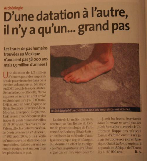 DES EMPREINTES DE CHAUSSURES VIEILLES DE PLUSIEURS MILLIONS D'ANNÉES - Page 2 Pas_hu10